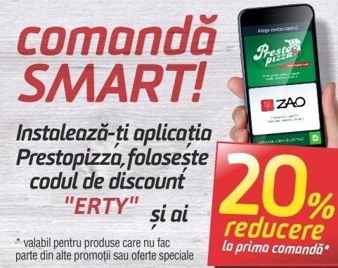Comanda Smart cu Presto-Pizza